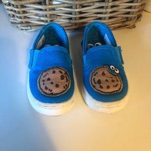 Cookie Monster TOMS Slip on's